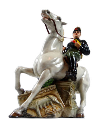 Statua equestre di Benito Mussolini