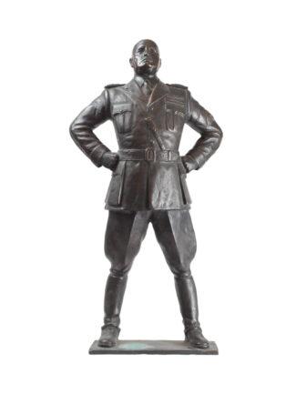 Statua in bronzo Benito Mussolini