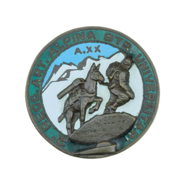 Battaglione Alpini Universitari del 2° Rgt. Art. Alpina