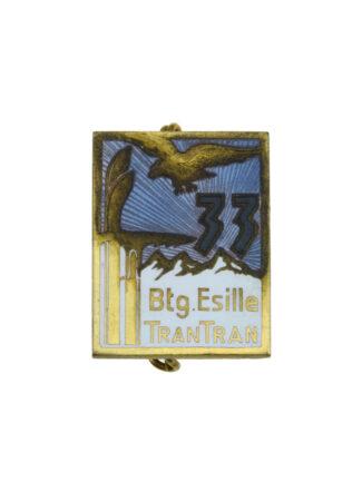 """33a Compagnia Alpini del Btg. Apin. """"Esilles"""""""