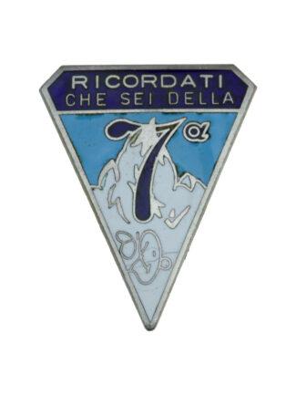7a Compagnia Alpini del Btg. Alpini Intra