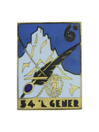 Distintivo 54a Compagnia Alpini Btg Vestone