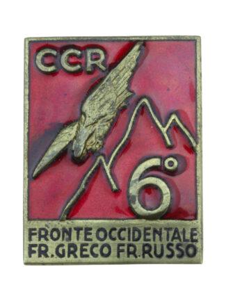 Compagnia Comando Reggimentale 6 Rgt Alpini