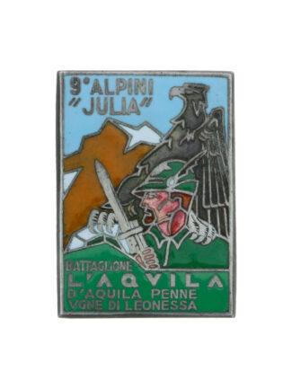 9 Alpini Julia Battaglione l'Aquila