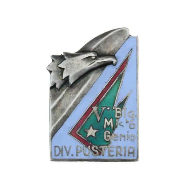 V° Battaglione Misto Genio Divisione Pusteria