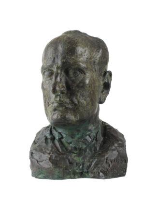 Testa di Benito Mussolini - G. Graziosi