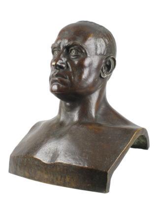 Busto in bronzo di Benito Mussolini